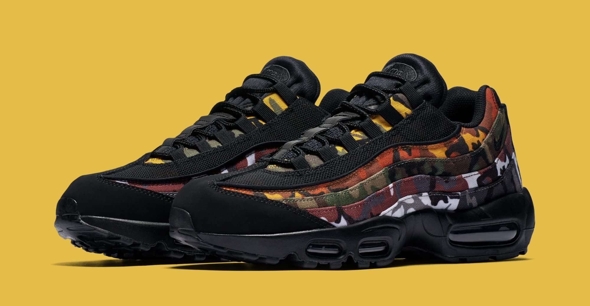 best service df22a ff797 Nike Air Max 95 ERDL Party Multi Color Camp White Black  Sole Collector
