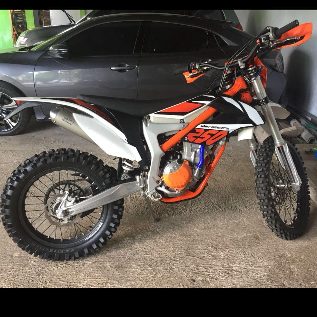 Monggo juragan Ktm freeride 250f 4tak th2018 muluss baru
