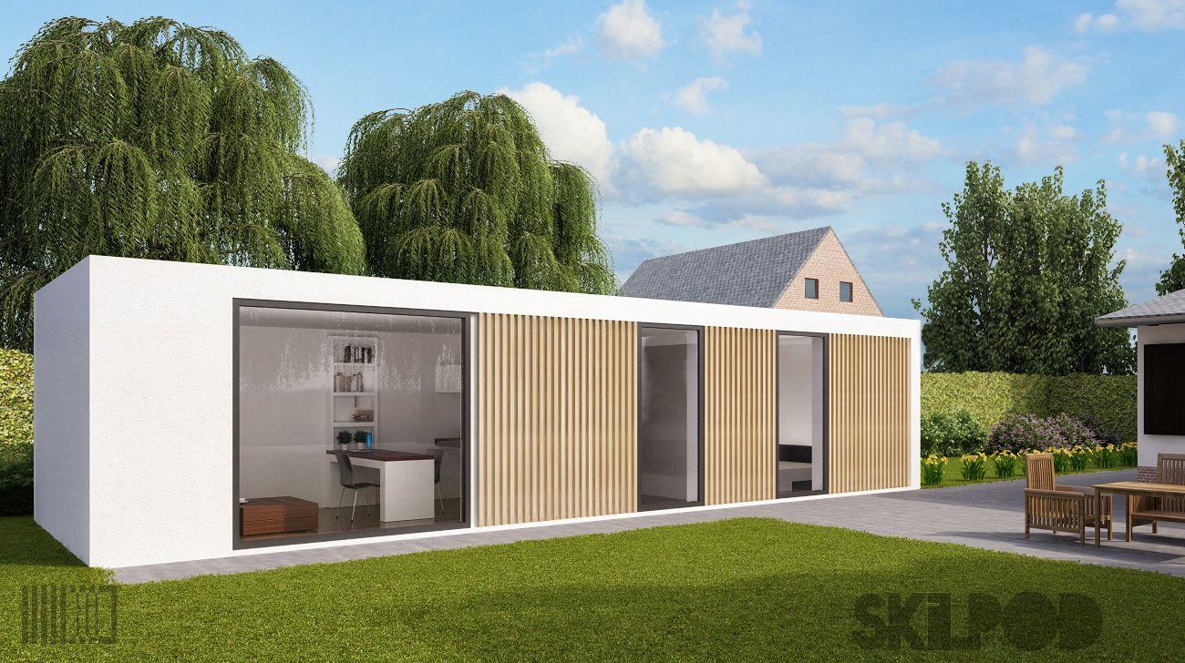 Shedquarters je eigen private getaway in de tuin for Arquitectura contenedores maritimos
