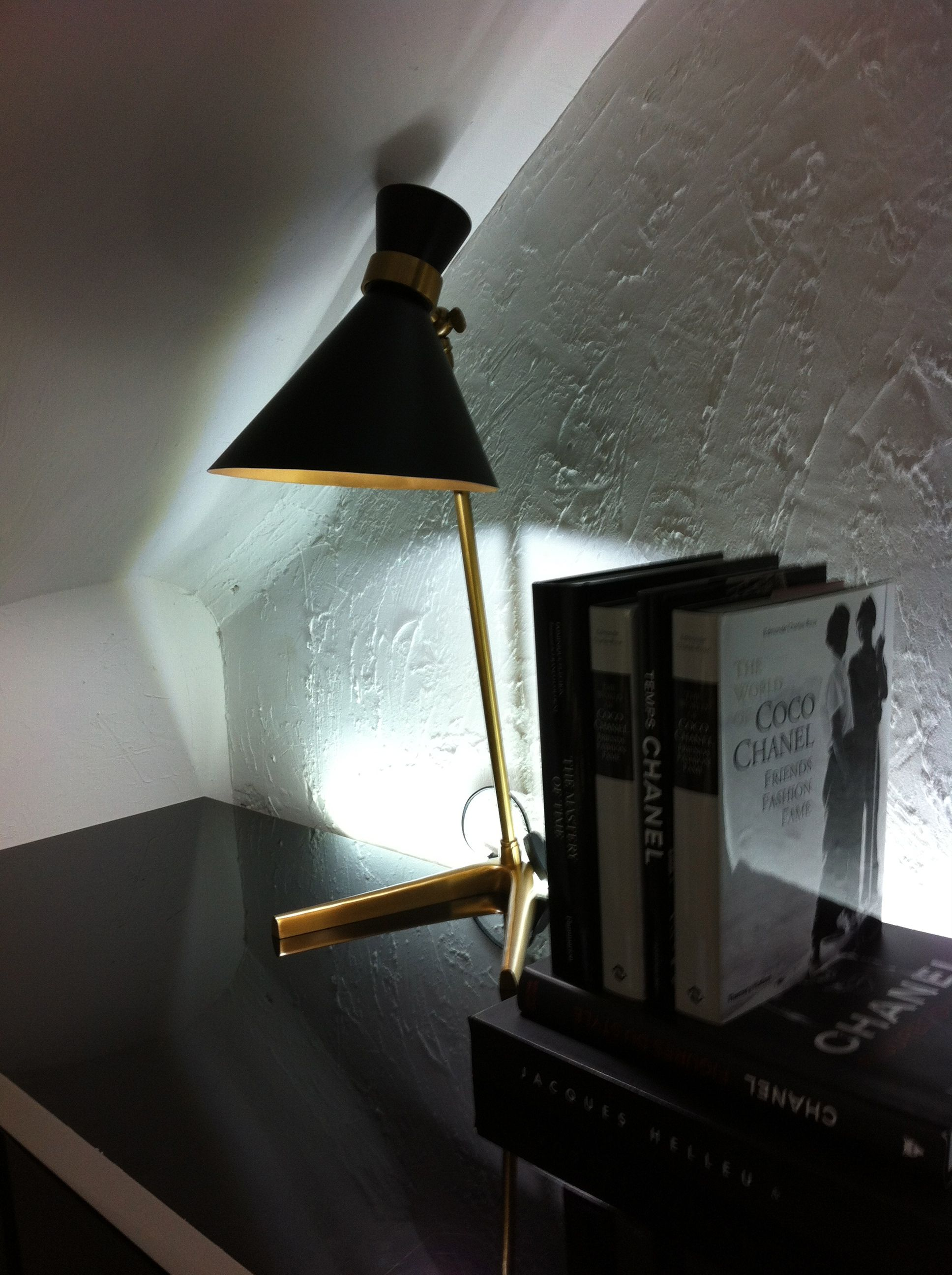 Peggy Table Lamp GONG @ CHANEL Rue Cambon, Visit the site www.gong.co.uk