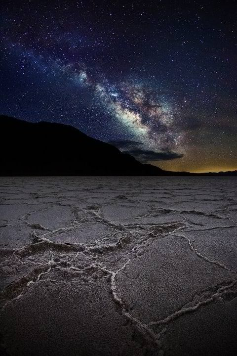 Bonneville Salt Flats At Night Utah Near Salt Lake City One Of My Favorite Places To Photograph Milky Way Wonders Of The World Places To See
