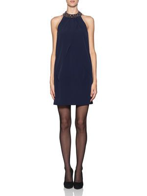 CELLA HALTERNECK SHORT DRESS, Peacoat, main · Short DressesPeacoatsMaterialisticEveryday  FashionVero ModaShort ...