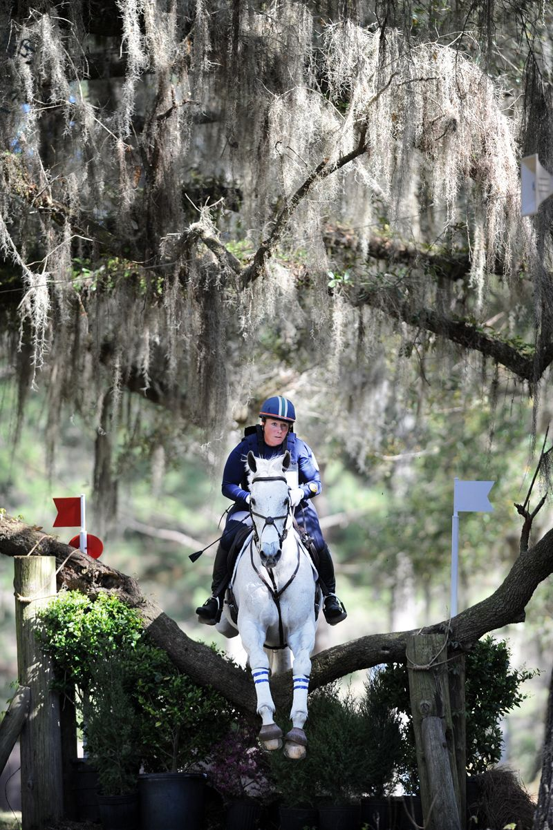 Becky Holder and her #OTTB, 13-year-old Can't Fire Me