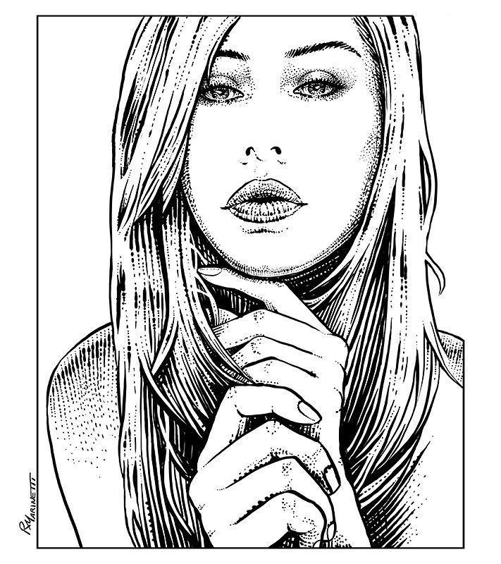 simple portrait based on @paolasightmorelli #