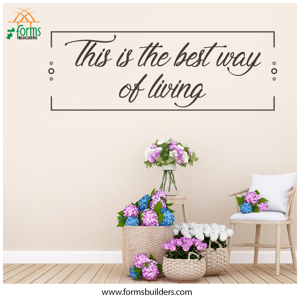 This Is The Best Way Of Living Forms Builders St Mary S Square Nellikunnu Thrissur Kerala India 680005 Mobile 91 98470 Form Builder All Modern Thrissur