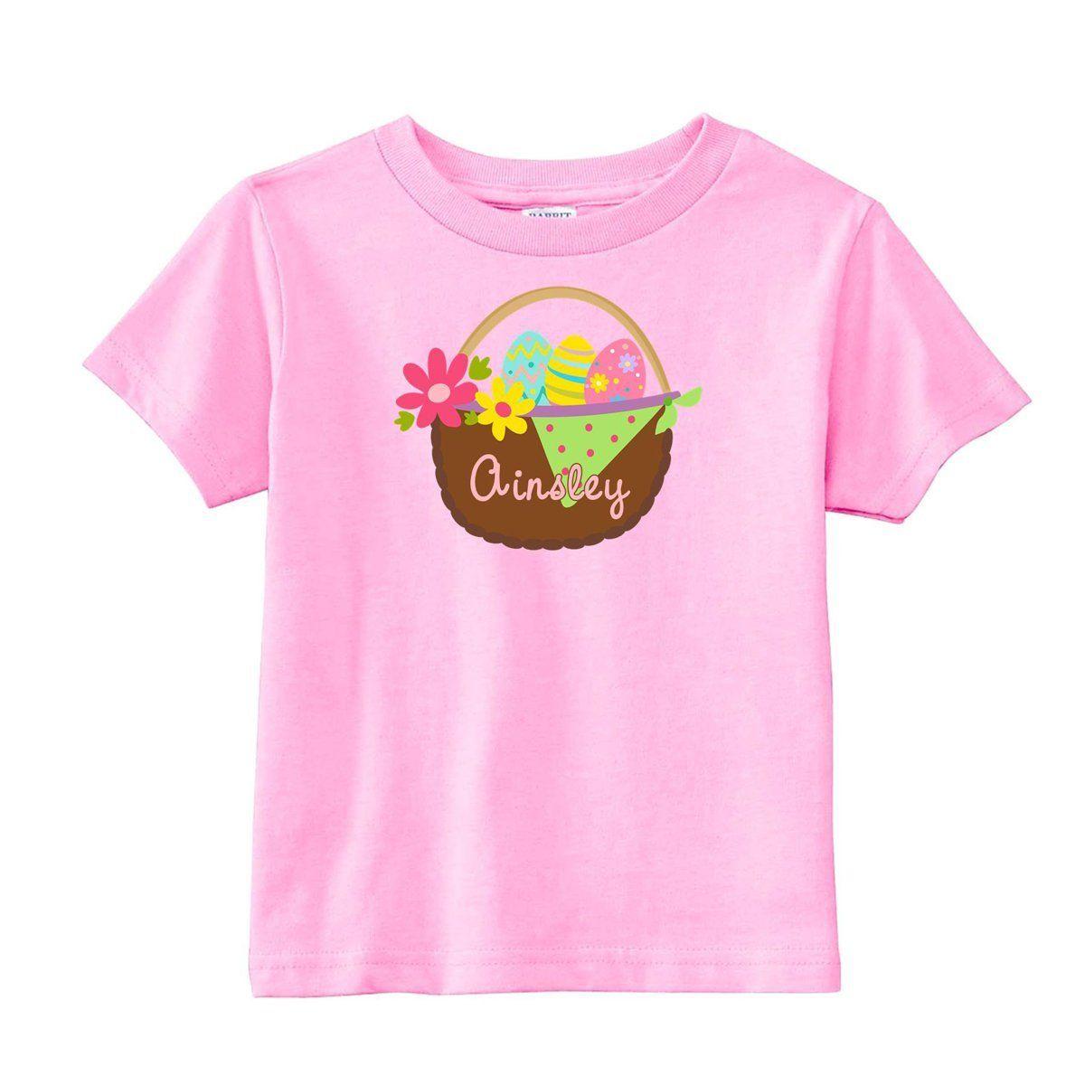 52fa131c04ca2 Easter Basket T Shirt,monogrammed Easter shirt, bunny t-shirt ...