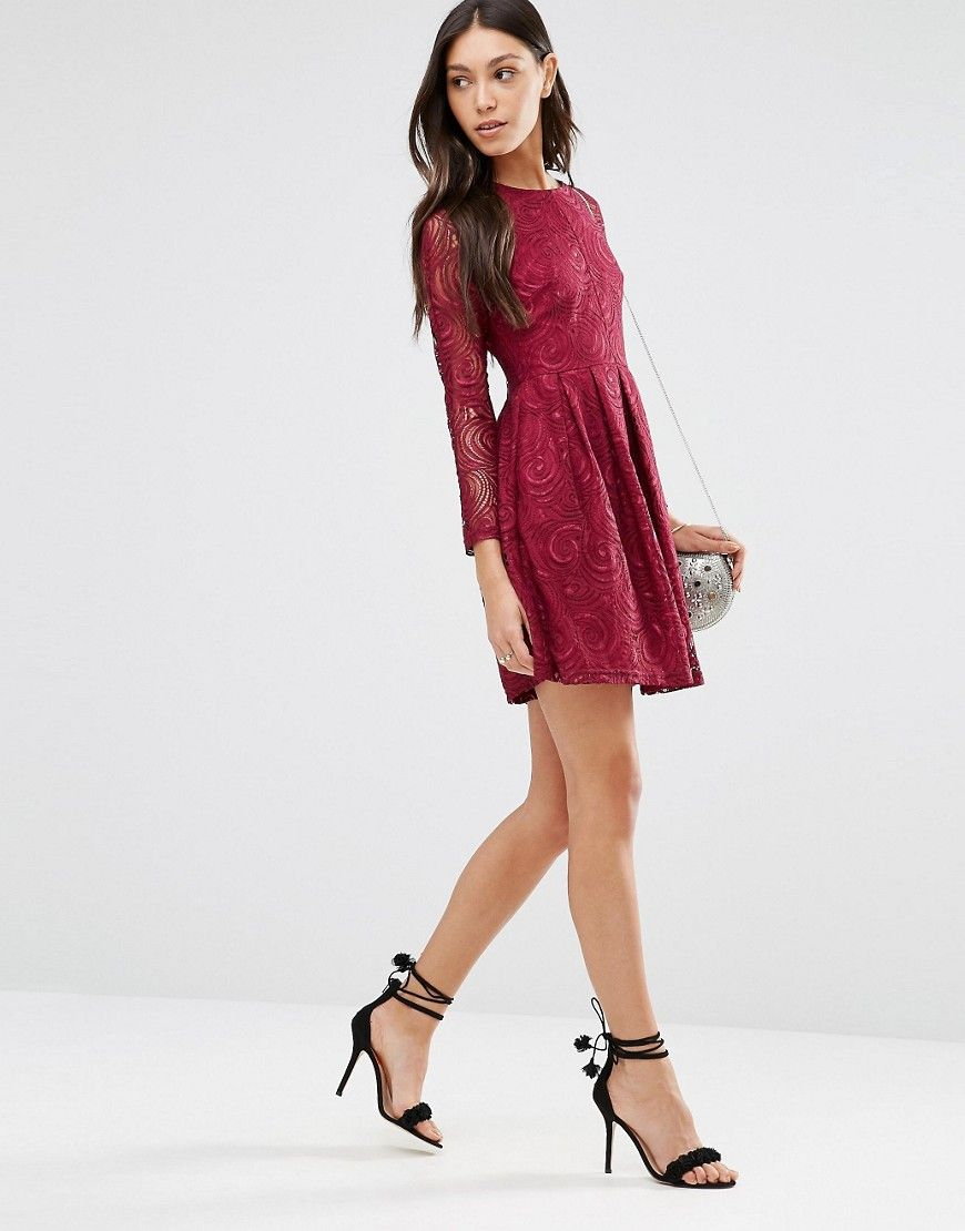 Image 4 of Traffic People Supreme Dress In Lace | Asos | Pinterest