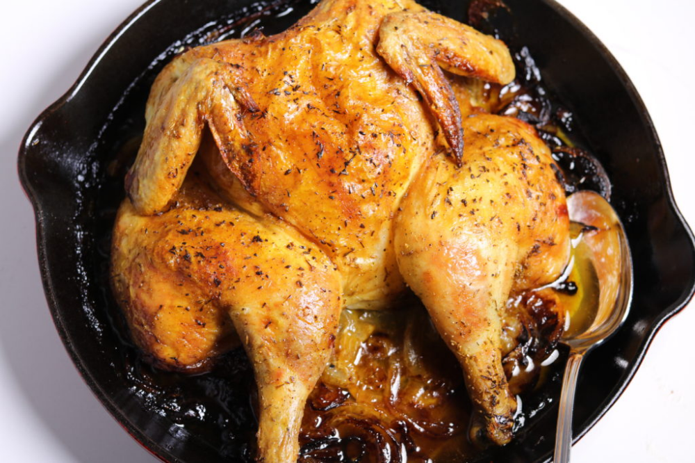 Ina Garten Skillet Roasted Lemon Chicken Recipe With Images Lemon Roasted Chicken
