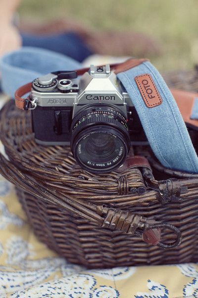 Bayleigh Fotostrap Camera Strap, chambray, fashionable camera strap, gives back!