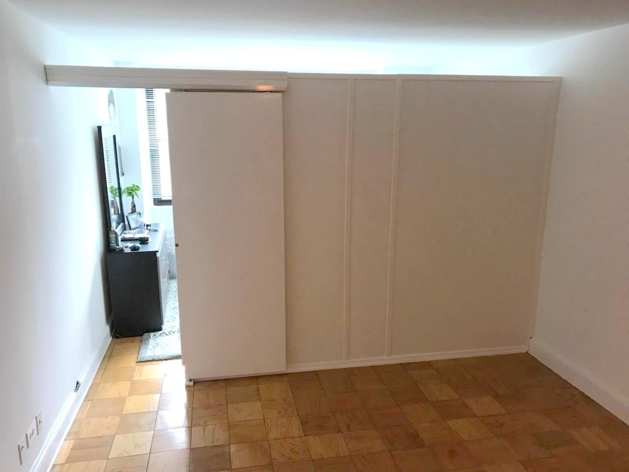 Temporary Room Divider With Sliding Door Call Us For All Your