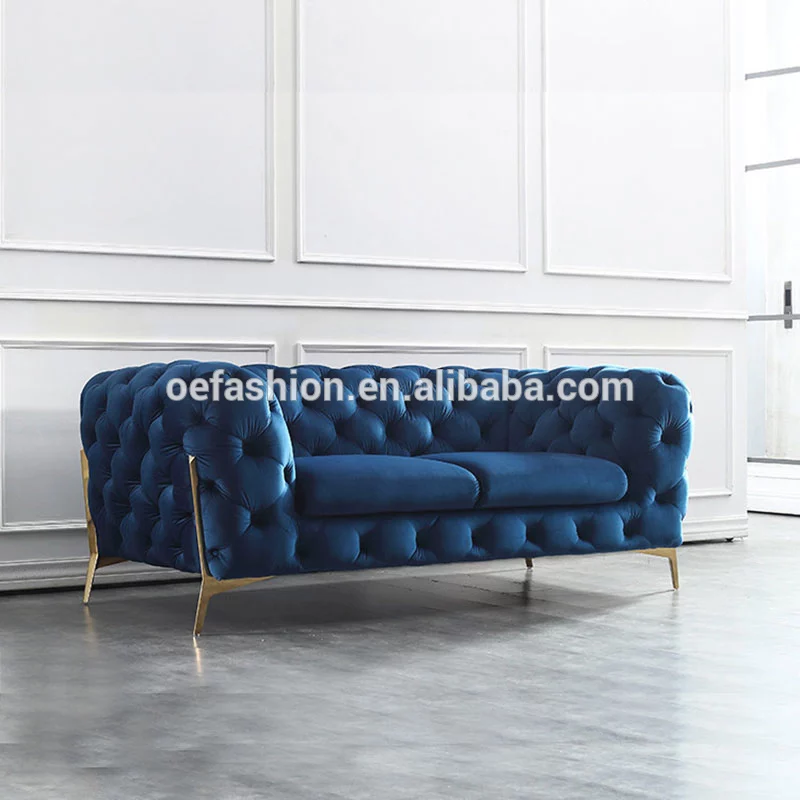 Oe Fashion Stainless Steel Frame Luxury Living Room Fabric Sofa Design For Home Furniture View Home Design Imports Furniture Oe Fashion Product Details From F Fabric Sofa Design Sofa Design Luxury Living Room