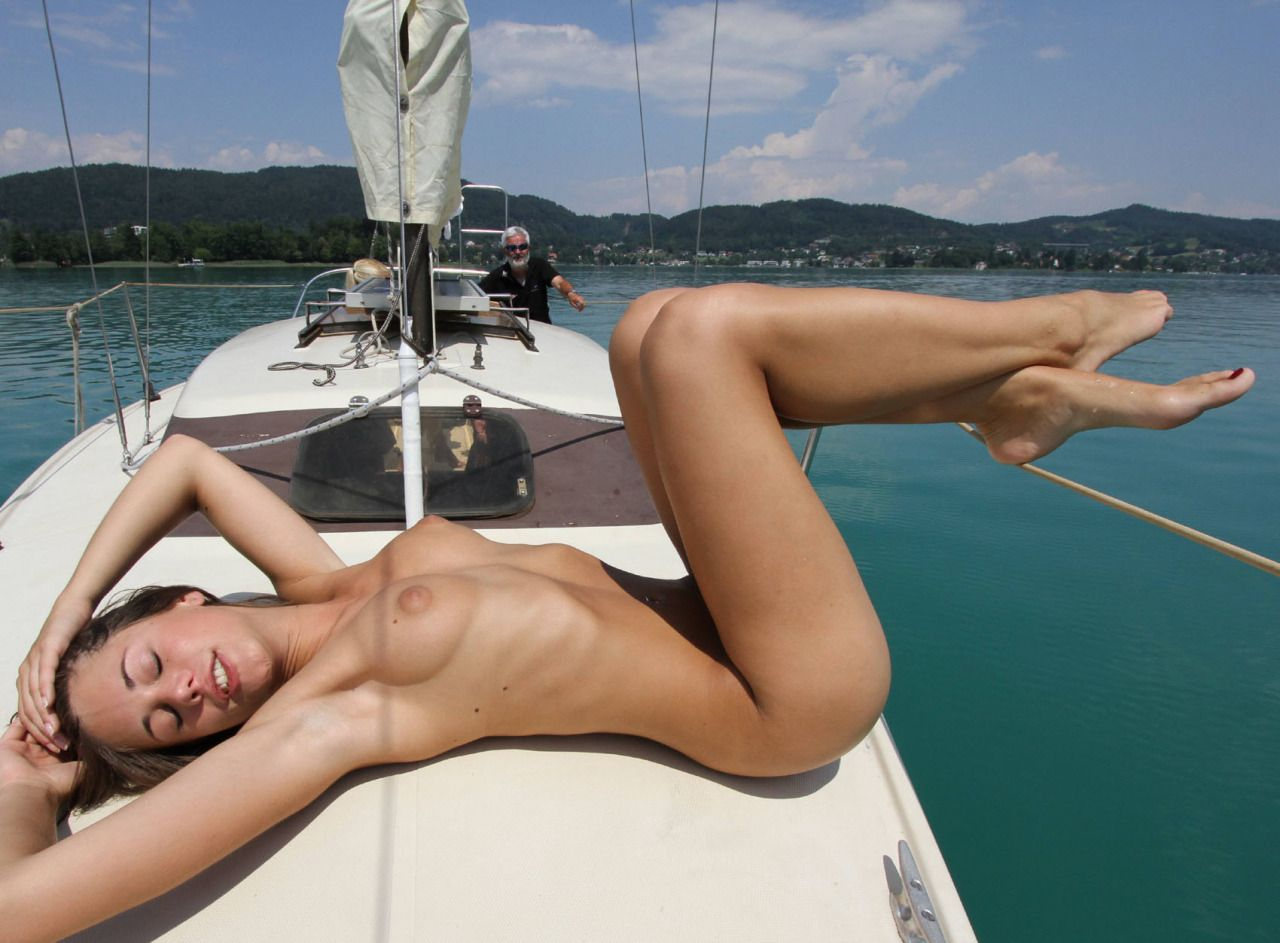Nude In Boat  Tumblr  Beauty And The Boat  Pinterest -7270