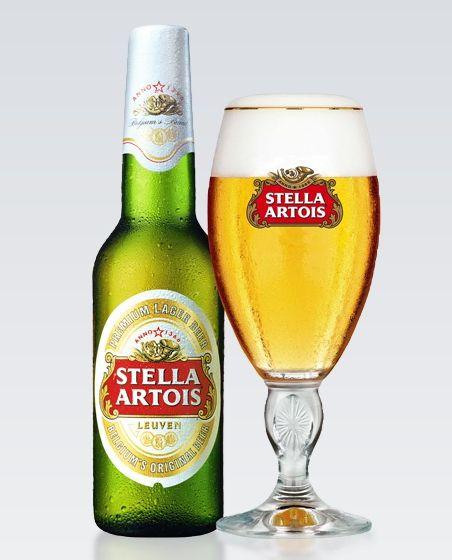 Lighter beer of choice...Stella Artois