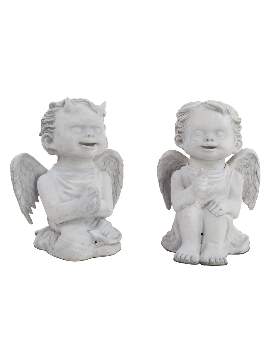 Talking Cherubs exclusively at Spirit Halloween - Creep out your ...