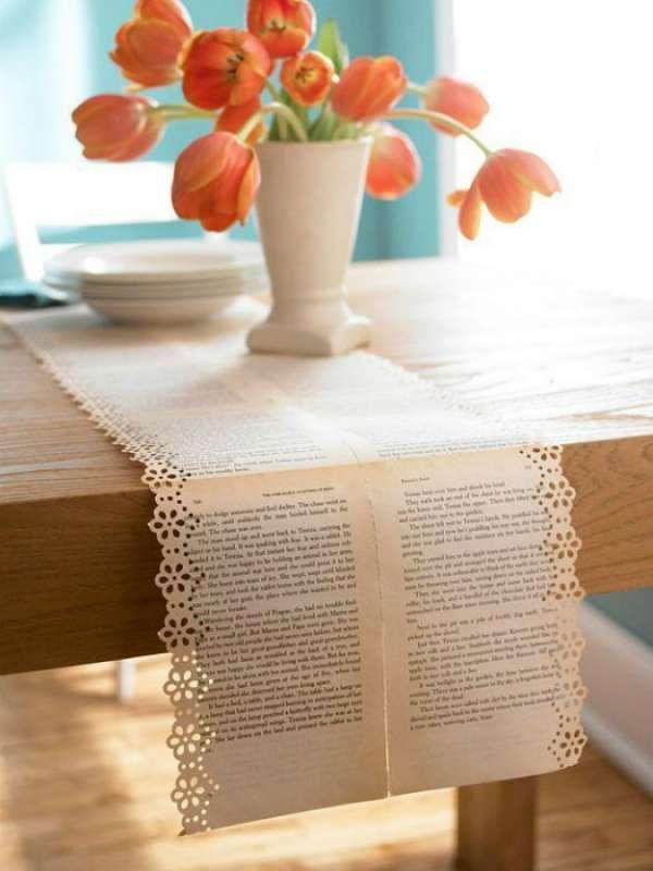 11 id es d co avec du papier de r cup ration vieux. Black Bedroom Furniture Sets. Home Design Ideas