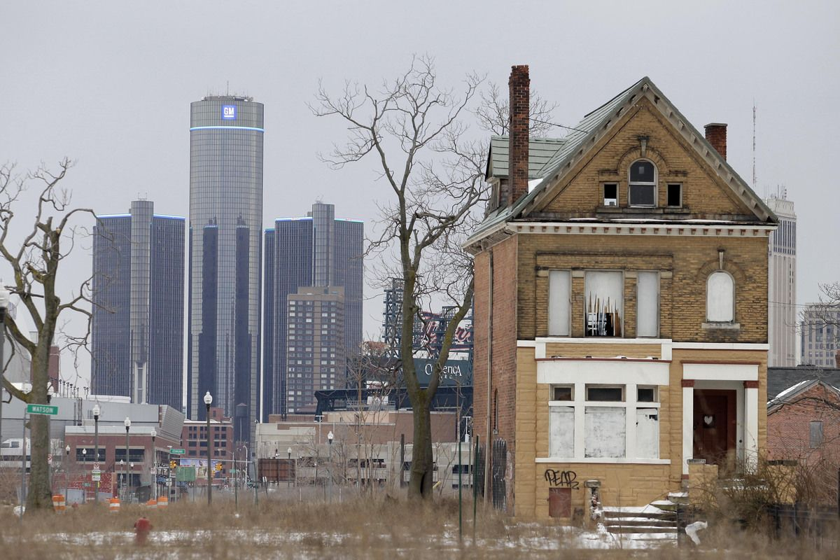 It S Official Detroit Is Bankrupt We Buy Houses Derelict House Abandoned Detroit