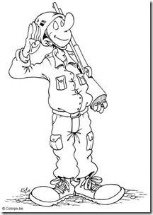 Día Del Soldado 7 Pintable Dibujos Dibujos Para Colorear Y