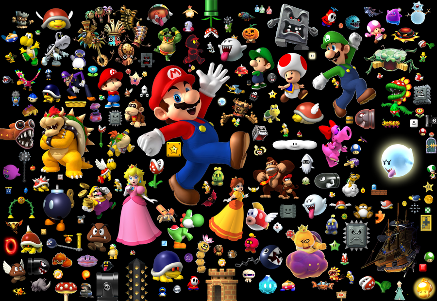 Mario Wallpaper Animacao Desenhos