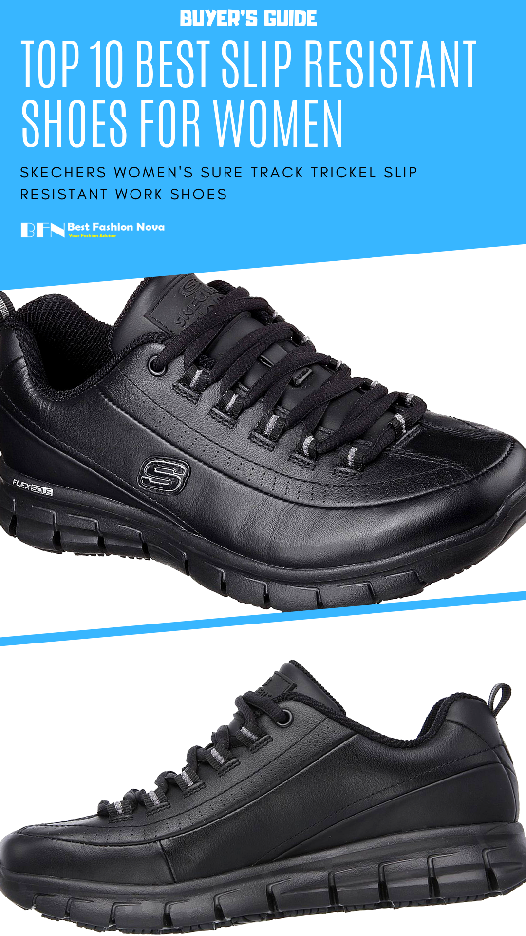 best slip resistant work shoes