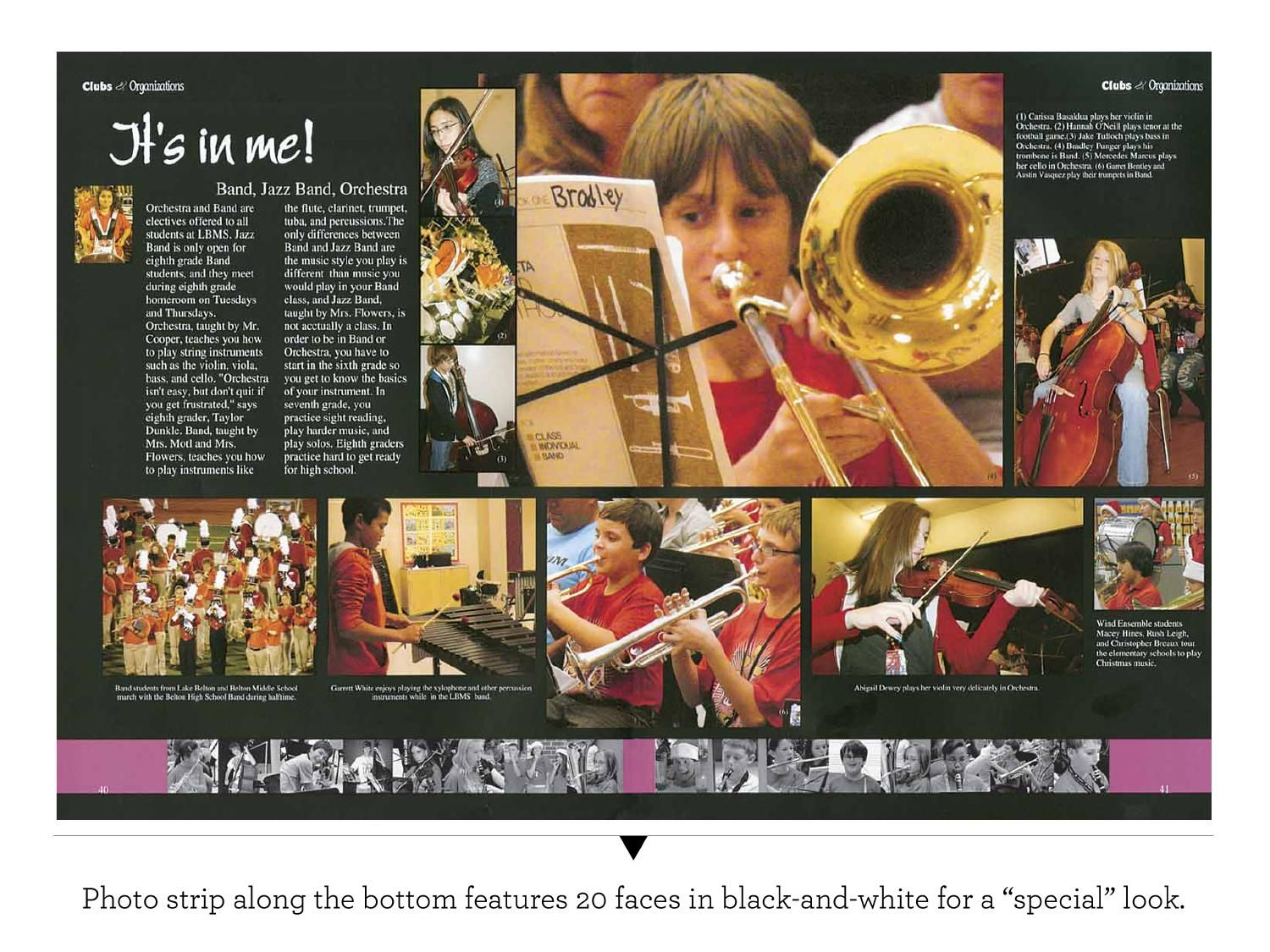 expanding yearbook coverage education yearbook layouts