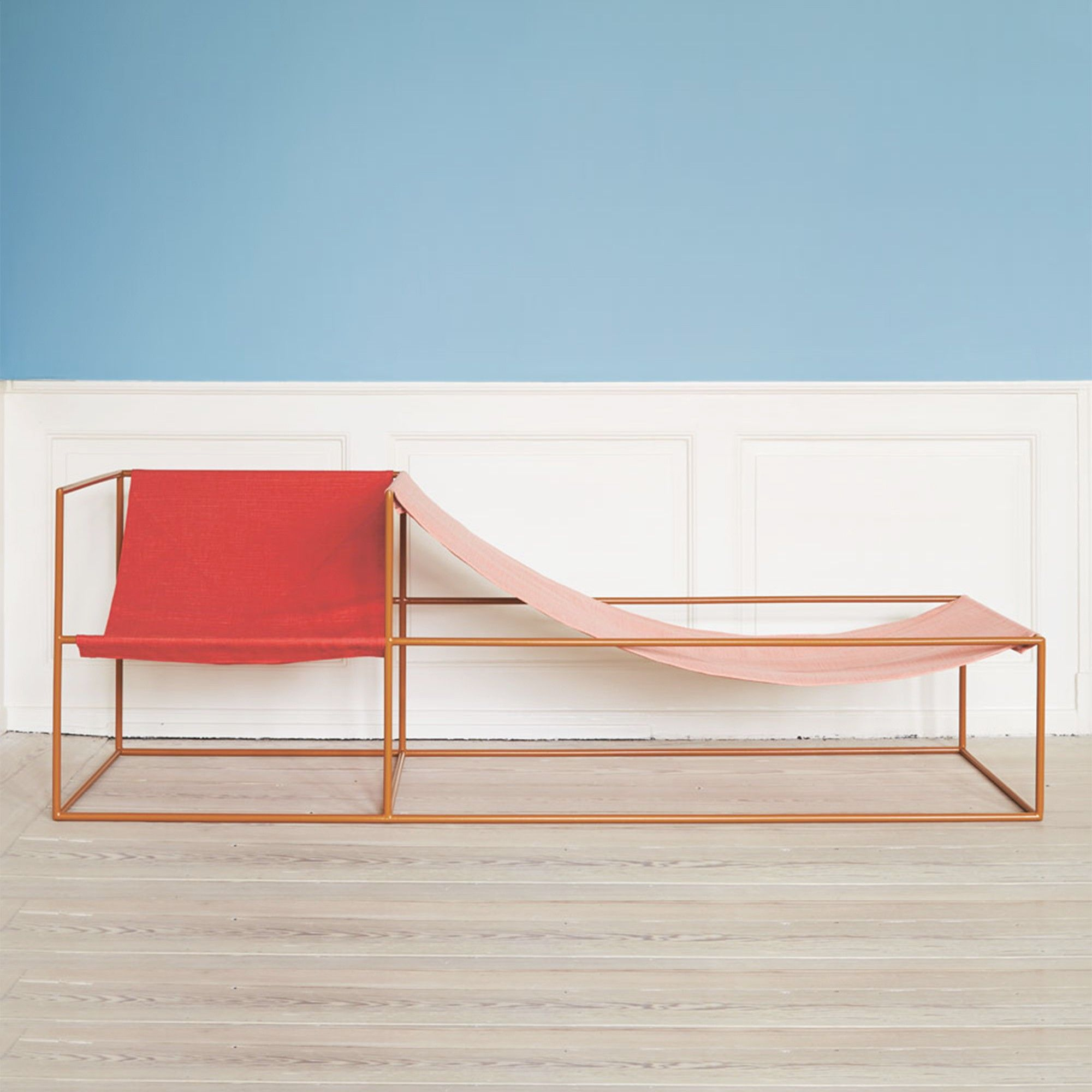 Light pink accent chair 187 home design 2017 - Seat Red Pink Muller Van Severen Home Interior Designside