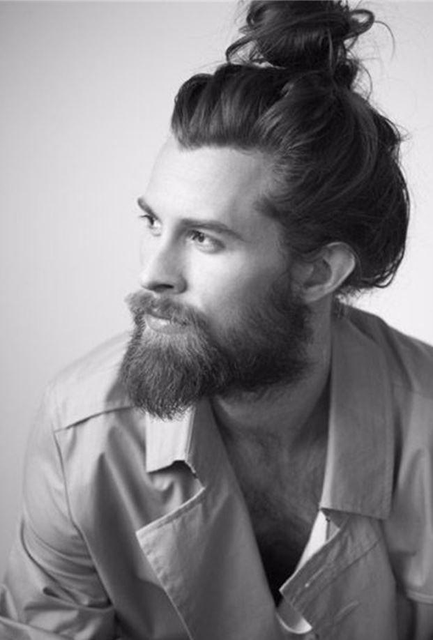2017 Erkek Uzun Sac Topuz Modelleri Erkek Sac Kesimleri Uzun