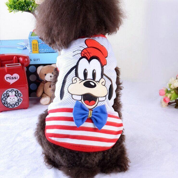 2016 New Arrivals Mickey Pet Dog Clothes Summer Cute Pet