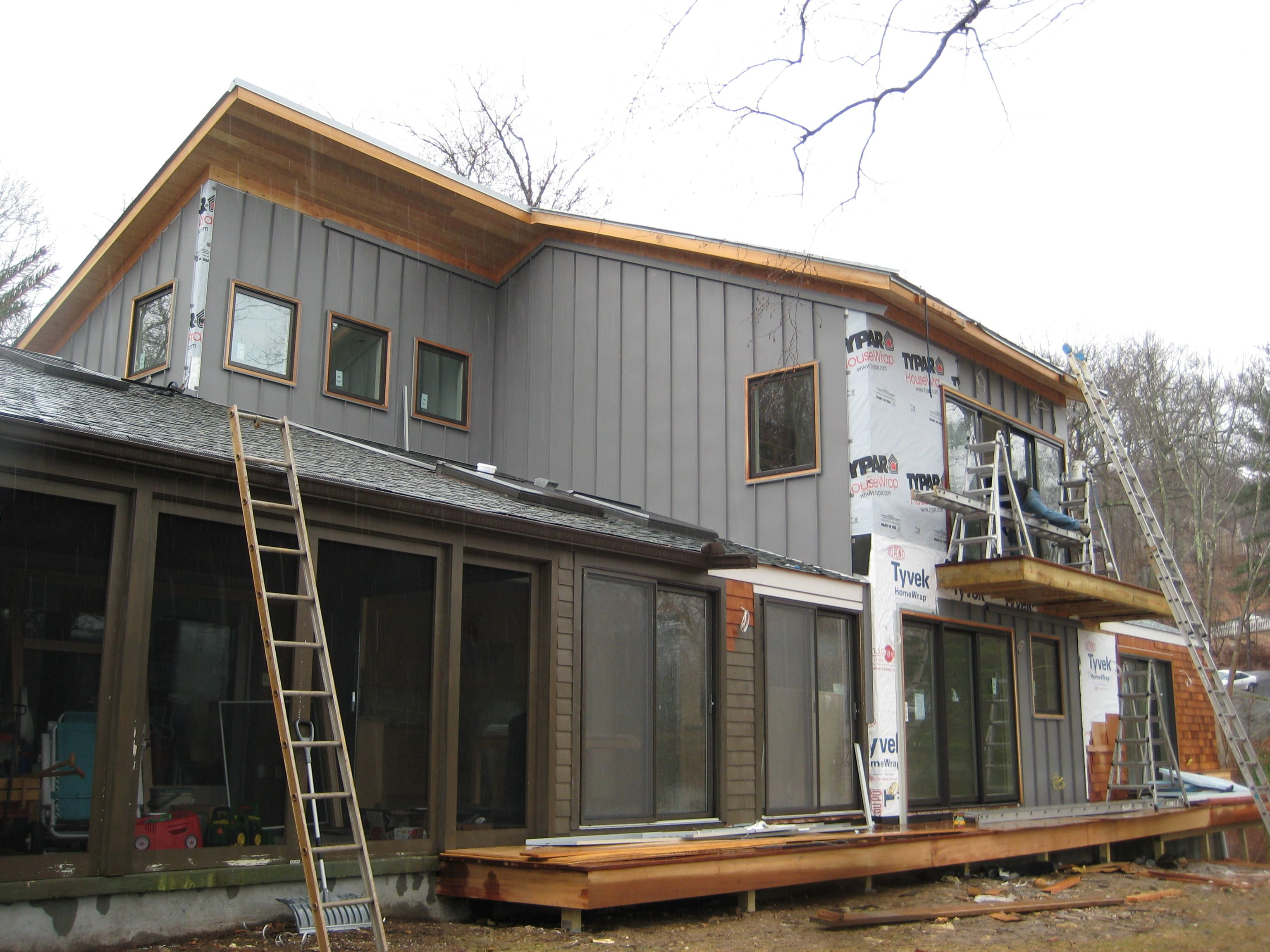 Modern House Metal Siding Modern House