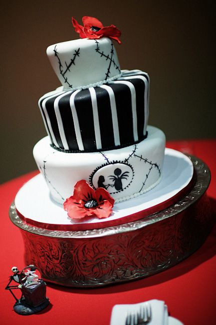 Jack Skellington Cake Everything Jack Pinterest Cake birthday