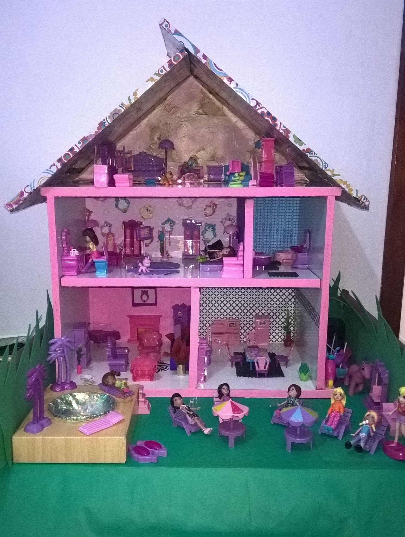 Diy Casinha De Bonecas Para Polly