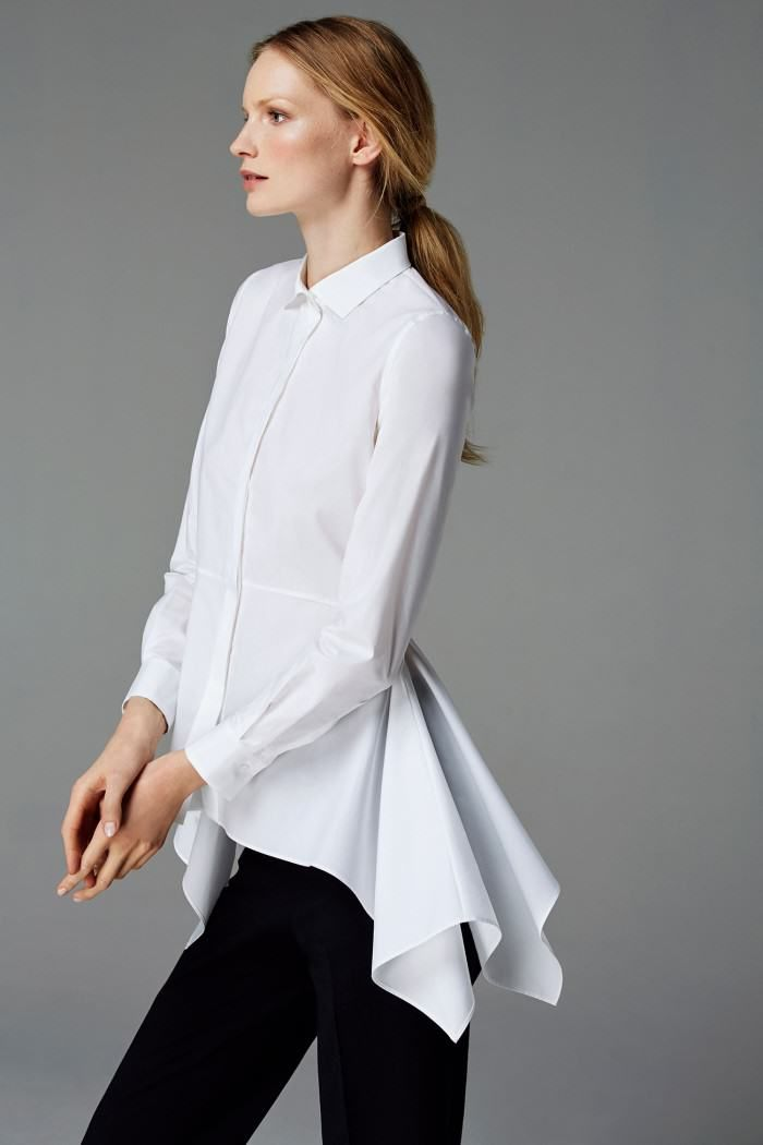 CH Carolina Herrera Woman - White Shirt Collection - Fall ...