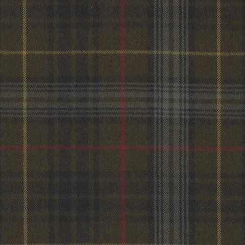 Breacon Plaid – Dark Olive - Plaids & Checks - Fabric - Products - Ralph Lauren Home - RalphLaurenHome.com