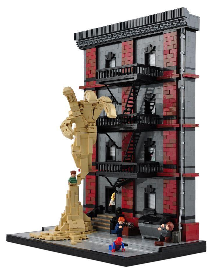 Maison Spidey SandmanLego Vs De LegoProjets Et BeCoxQWdr