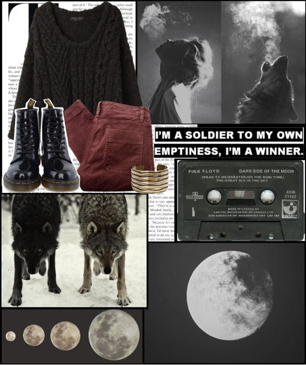 """Dark side of the moon"" by barbi-59 ❤ liked on Polyvore"