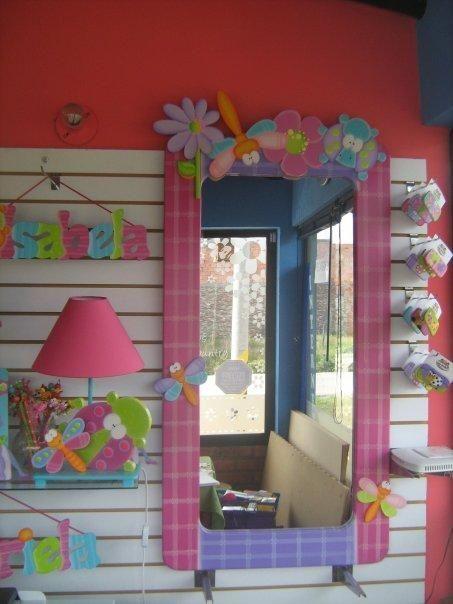 Espejo para ni as bienvenido bb pinterest espejos for Espejos decorativos para habitaciones
