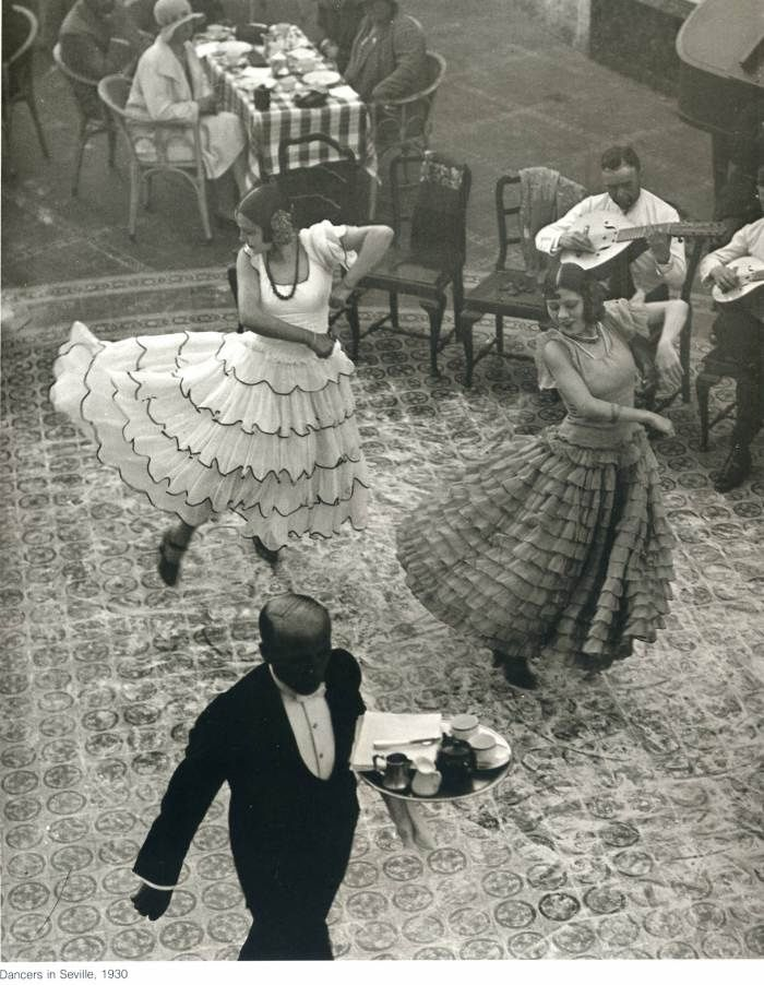 Spain 1930   seville, spain 1930 by martin munkácsi