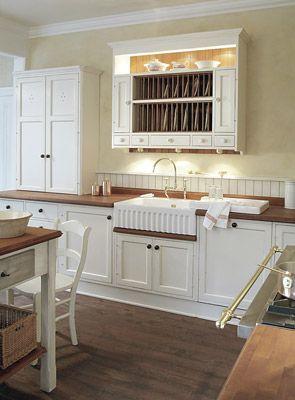 British Stoves Marple Dale Landhausküche Handgebaute Englische