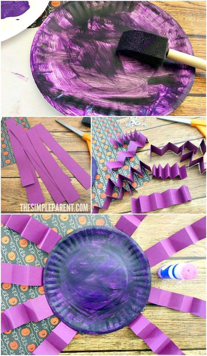 11++ Halloween paper plate spider crafts ideas in 2021