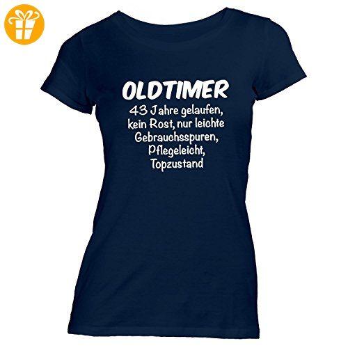 Damen T-Shirt - Oldtimer Geburtstag 43 Jahre - Birthday 43 Years Fun  Geschenkidee,