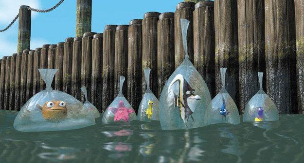 También había resentimiento hacia el humano entre los peces. | Esta teoría prueba que todo el universo Pixar anticipa el fin de la humanidad