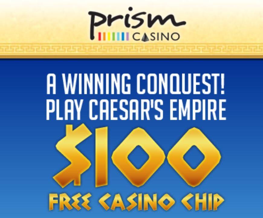 100 No Deposit Bonus At Prism Casino Casino Casino Promotion