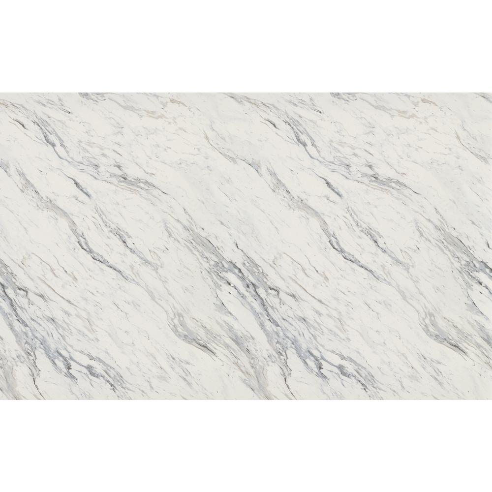 Wilsonart 4 ft. x 8 ft. Laminate Sheet in Calcutta Marble