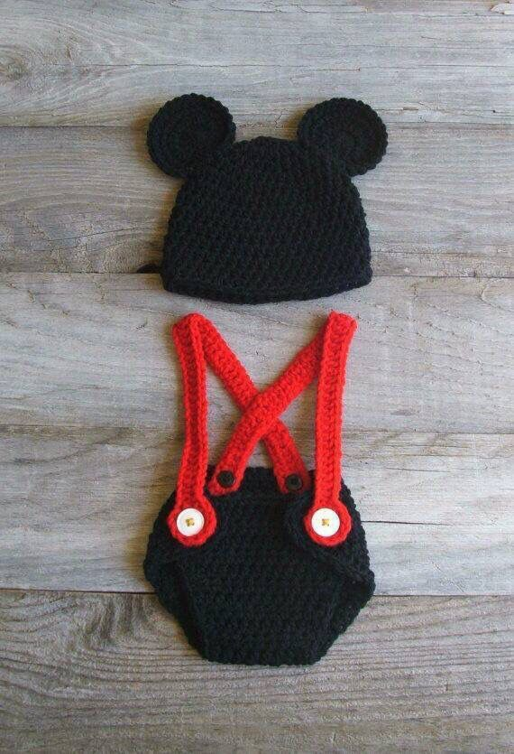 Micky mouse | knitting and crochet | Pinterest