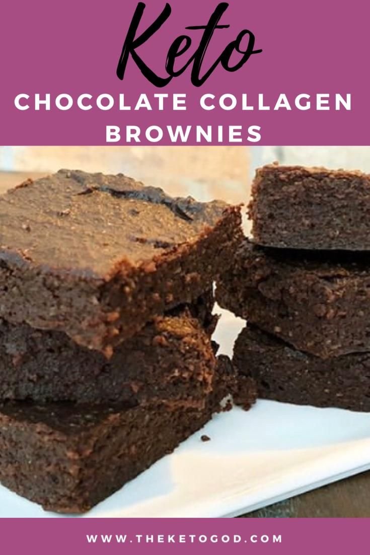 Delicious Keto Chocolate Collagen Brownies