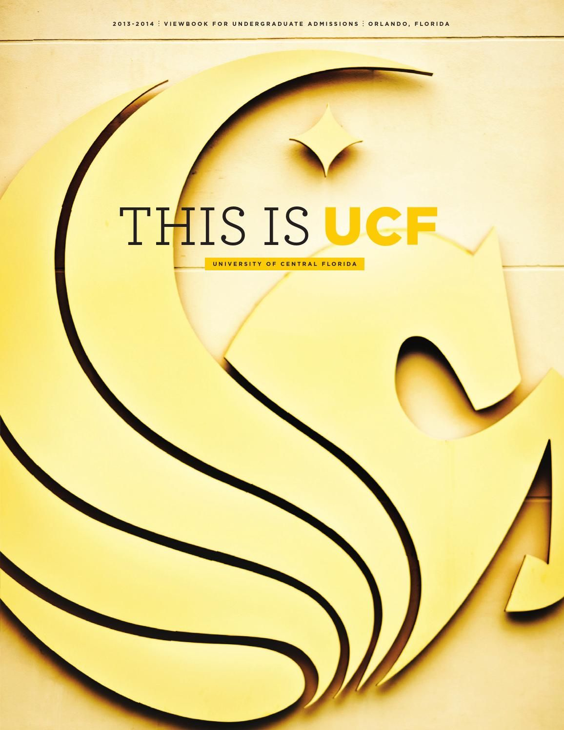 University of Central Florida Viewbook 20132014 (With