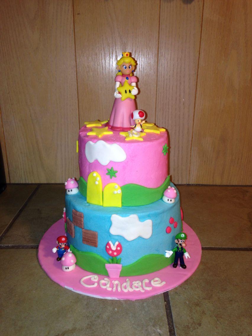 Princess Peach Cake By Jy Birthday Ideas In 2019