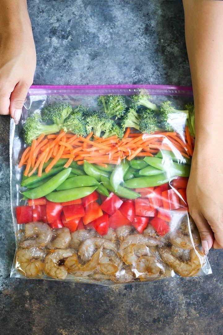 Shrimp Stir Fry Freezer Pack
