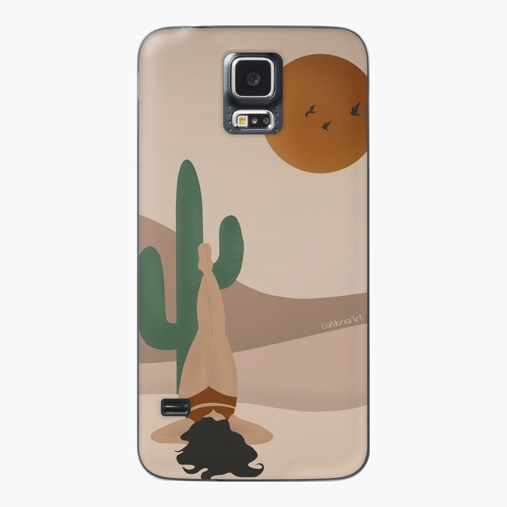 Cactus Chill Samsung Galaxy S5 Skin By Lamonaart In 2021 Minimalist Drawing Samsung Galaxy S5 Galaxy S5