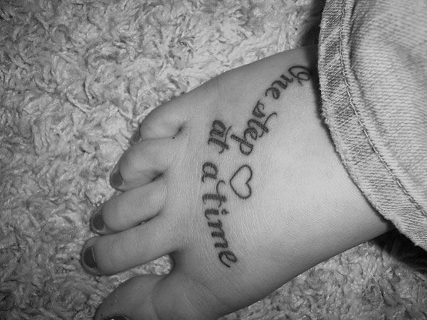 new foot tattoos 25 Refined Foot Tattoos Quotes   Ink   Pinterest ...