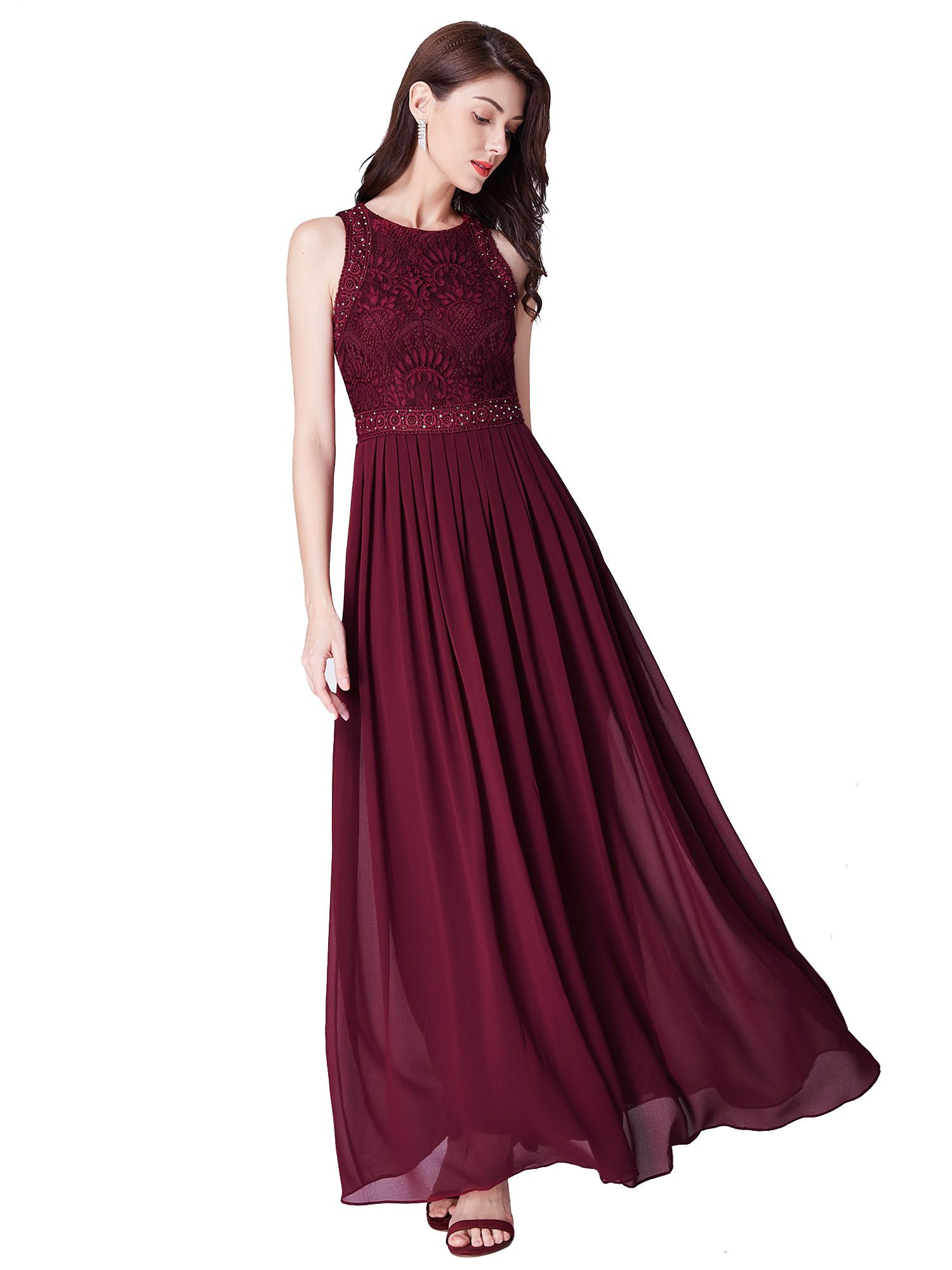 Ever Pretty Uk Plus Size Lace Bridesmaid Prom Dresses Chiffon Homecoming Evening Lace Formal Dress Evening Dresses Long Long Bridesmaid Dresses [ 2000 x 1500 Pixel ]
